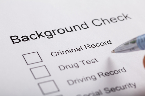 Reason to do a Background Check